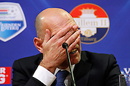 Onderwerp/Subject: Willem II - Eredivisie<br /> Reklame:  <br /> Club/Team/Country: <br /> Seizoen/Season: 2014/2015<br /> FOTO/PHOTO: Coach Jurgen STREPPEL of Willem II during press conference. (Photo by PICS UNITED)<br /> <br /> Trefwoorden/Keywords: <br /> #03 #20 $64 ±1401974349562<br /> Photo- & Copyrights © PICS UNITED <br /> P.O. Box 7164 - 5605 BE  EINDHOVEN (THE NETHERLANDS) <br /> Phone +31 (0)40 296 28 00 <br /> Fax +31 (0) 40 248 47 43 <br /> http://www.pics-united.com <br /> e-mail : sales@pics-united.com (If you would like to raise any issues regarding any aspects of products / service of PICS UNITED) or <br /> e-mail : sales@pics-united.com   <br /> <br /> ATTENTIE: <br /> Publicatie ook bij aanbieding door derden is slechts toegestaan na verkregen toestemming van Pics United. <br /> VOLLEDIGE NAAMSVERMELDING IS VERPLICHT! (© PICS UNITED/Naam Fotograaf, zie veld 4 van de bestandsinfo 'credits') <br /> ATTENTION:  <br /> © Pics United. Reproduction/publication of this photo by any parties is only permitted after authorisation is sought and obtained from  PICS UNITED- THE NETHERLANDS