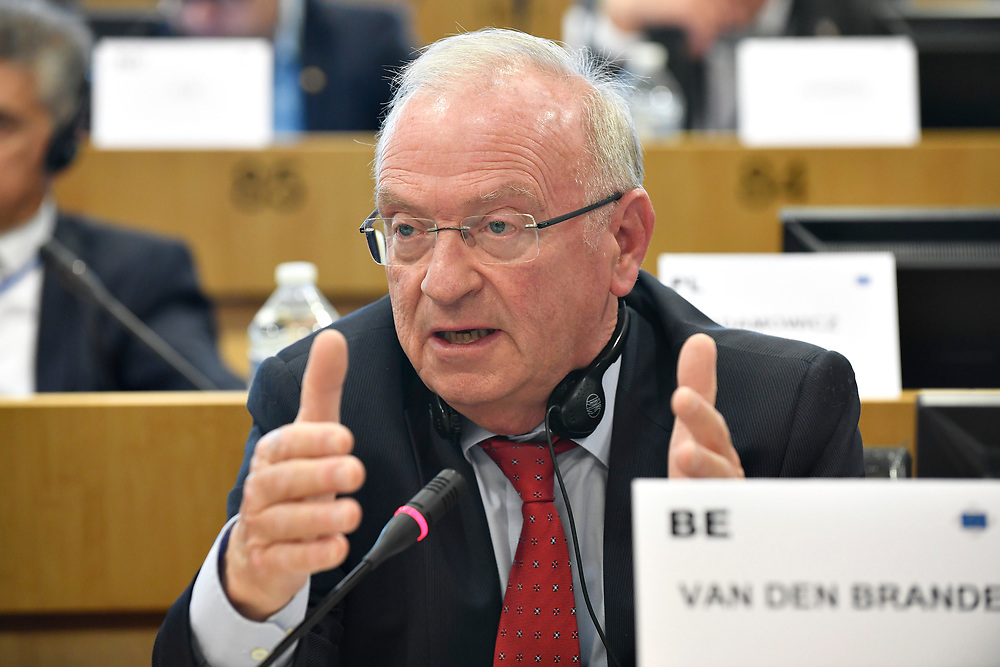 11 May 2017, EPP Group meeting<br /> Belgium - Brussels - May 2017 <br /> VAN DEN BRANDE	Luc<br /> &copy; European Union / Photographer