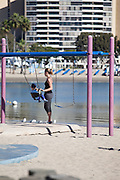 Mother's Beach at Marina Del Rey Los Angeles