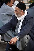 Man at Khan-alKhalili Bazaar in Cairo, Egypt