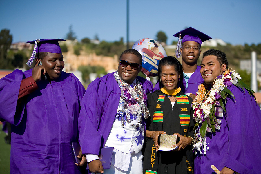 Castlemont High School Graduation, Oakland, CA