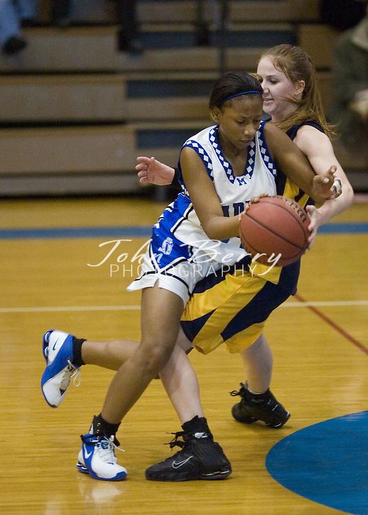 MCHS Varsity Girls Basketball.vs Rappahannock.January 4, 2005
