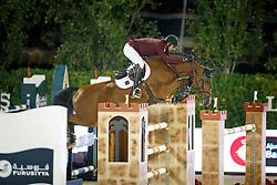 Al Thani Bin Khalid Ali, (QAT), Vienna Olympic, FEI President<br /> Logines Challenge Cup<br /> Furusiyya FEI Nations Cup Jumping Final - Barcelona 2015<br /> © Dirk Caremans<br /> 25/09/15