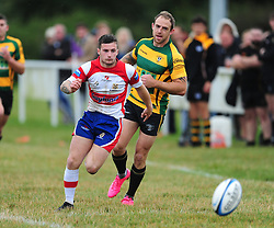 WELLINGBOROUGH REMI HUSSEIN, Wellingborough Rugby RFC v Bugbrooke RFC, Midlands 1 East League, Cut Throat Lane Gound, Gt Doddington, Saturday 3rd September 2016