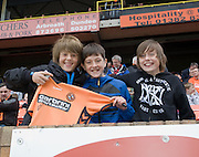 Fans - Dundee United v Hearts, Clydesdale Bank Scottish Premier League at Tannadice Park..© David Young Photo.5 Foundry Place.Monifieth.Angus.DD5 4BB.Tel: 07765252616.email: davidyoungphoto@gmail.com.http://www.davidyoungphoto.co.uk