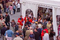Party with supporters, Team Belgium, Le Jeune Philippe, Lansink Jos, Van DIjck Marc, Philippaerts Ludo, De Vos Ingmar, BEL<br /> CHIO Aachen 2001<br /> © Hippo Foto - Dirk Caremans<br /> 15/06/2001