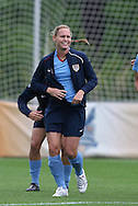 22 April 2008: Christie Rampone. The United States Women's National Team held a training session on Field 3 at WakeMed Soccer Park in Cary, NC.
