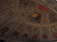 High Desert Test Sites 2013. Design of the roof of the bell workshop in Arcosanti,AZ.