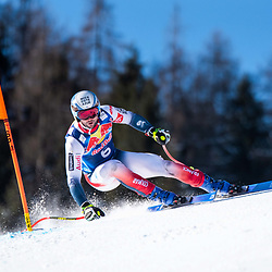 Matthieu Bailet of France at the Ski Alpin: 80. Hahnenkamm Race 2020 - Audi FIS Alpine Ski World Cup - Men's Downhill Training at the Streif on January 22, 2020 in Kitzbuehel, AUSTRIA. (Photo by Horst Ettensberger/ESPA/CSM/Sipa USA) - Kitzbuhel (Autriche)