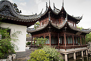 Deyue Hall in Yu Yuan Gardens Shanghai, China