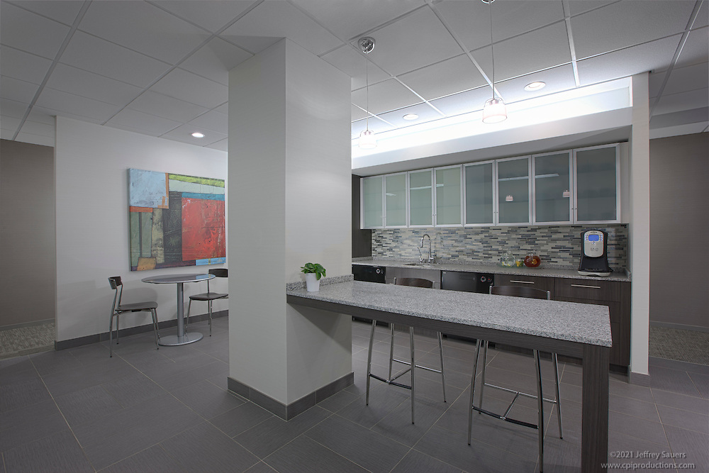 Interior Design image of Cafe at Towson City Center Building in Towson, MD