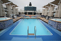 Celebrity Eclipse interior photos.The Pool Deck