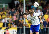 27-05-2007: Voetbal: VVV Venlo - RKC Waalwijk: Venlo<br /> RKC Waalwijk is gedegradeerd naar de Jupiler League.<br /> Ekrem Kahya in duel met Tim Janssen<br /> foto : Geert van Erven