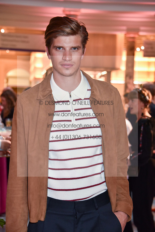 """Toby Huntington-Whiteley at the opening of """"Frida Kahlo: Making Her Self Up"""" Exhibition at the V&A Museum, London England. 13 June 2018."""
