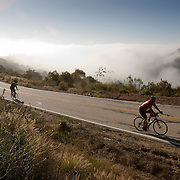 Riders in the Ojai Valley Century Bike Ride take on a 100 mile ride through Ojai, Ventura and Santa Barbara Counties.
