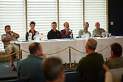 "2016 Hawaii Races Review Panel"" What went right, what went wrong and why"" with Kim Worsham, Dave King, Scott Campbell, Tom Keffer, Joby Easton and Rhys Balmer. DAVE KING Participated in the single-handed race from San Francisco Bay to Hanalei Bay, Kaua'i. This was Dave's second single-handed race. He was the Pac Cup race winner in 1988 and came in 3rd in 1990. Dave has racked up 190,000 off shore miles.  SCOTT CAMPBELL Participated in the PacCup. This was Scott's third time entering the race. This past summer involved a medical supply air drop midocean.  TOM KEFFER This was Tom's first PacCup, but not his first ocean passage, as Tom has previously sailed to the South Pacific.  JOBY EASTON Participated in the VicMaui race and finished in first place. Joby won the 2008 Pac Cup and the Transpac Race in 2007.  RHYS BALMER Panel participation confirmation still pending. Rhys raced his 24-foot Moore in the PacCup's double-handed division, placing 2nd in division and 4th overall."