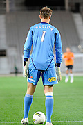 Goal Keeper Mark Paston of the Phoenix, A-League football pre season match - Wellington Phoenix v Brisbane Roar at Forsyth Barr Stadium, Dunedin, New Zealand on Saturday, 20 August 2011. Photo: Richard Hood/photosport.co.nz