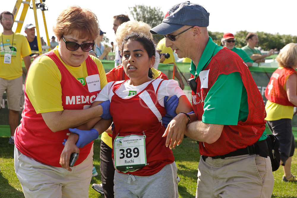 Beach to Beacon 10K , medical team responds to exhausted runner