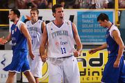 DESCRIZIONE : Cagliari Qualificazione Eurobasket 2009 Serbia Italia <br /> GIOCATORE : Luigi Datome <br /> SQUADRA : Nazionale Italia Uomini <br /> EVENTO : Raduno Collegiale Nazionale Maschile <br /> GARA : Serbia Italia Serbia Italy <br /> DATA : 20/08/2008 <br /> CATEGORIA : Esultanza <br /> SPORT : Pallacanestro <br /> AUTORE : Agenzia Ciamillo-Castoria/S.Silvestri <br /> Galleria : Fip Nazionali 2008 <br /> Fotonotizia : Cagliari Qualificazione Eurobasket 2009 Serbia Italia <br /> Predefinita :