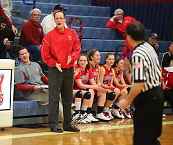 February 14, 2011: High School Girls Varsity Basketball Bridgeport vs. Liberty at Liberty High School. (Photo by: Ben Queen)