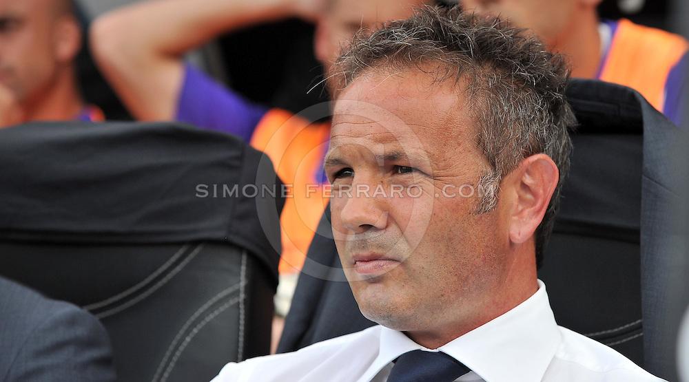 Udine, 18 Settembre 2011.Campionato di calcio Serie A 2011/2012  3^ giornata..Udinese vs Fiorentina. Stadio Friuli..Nella Foto: Sinisa Mihajlovic..© foto di Simone Ferraro