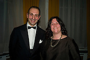 Hannah Rickards and Dr. Luigi   Maramotti, Dinner at the Italian Embassy in which the winner of the MaxMara Art Prize ( in collaboration with the Whitechapel art gallery )for Women is announced. Grosvenor Sq. London. 29 January 2008.  -DO NOT ARCHIVE-© Copyright Photograph by Dafydd Jones. 248 Clapham Rd. London SW9 0PZ. Tel 0207 820 0771. www.dafjones.com.