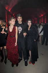 Left to right, AMY WEBSTER, DAVID WEBSTER and his wife SONNY WEBSTER at the launch of 2 collections by jeweller Stephen Webster - ÔThe 7 Deadly SinsÕ and ÔNo RegretsÕ held at The Old Vics Tunnels, Under Waterloo Station, Off Leake Street, London SE1 on 8th December 2010.<br /> Left to right, AMY WEBSTER, DAVID WEBSTER and his wife SONNY WEBSTER at the launch of 2 collections by jeweller Stephen Webster - 'The 7 Deadly Sins' and 'No Regrets' held at The Old Vics Tunnels, Under Waterloo Station, Off Leake Street, London SE1 on 8th December 2010.