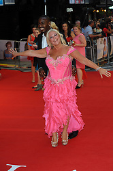 Vanessa Feltz arriving for the world premiere of Diana, in London, Thursday, 5th September 2013. Picture by Chris Joseph / i-Images