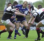 26/05/2002.Sport -Rugby Union - Parker Pen Shield Final.Sale vs Pontypridd..Martin Shaw   [Mandatory Credit, Peter Spurier/ Intersport Images].