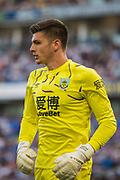 Nick Pope (GK) (Burnley) during the Premier League match between Brighton and Hove Albion and Burnley at the American Express Community Stadium, Brighton and Hove, England on 14 September 2019.