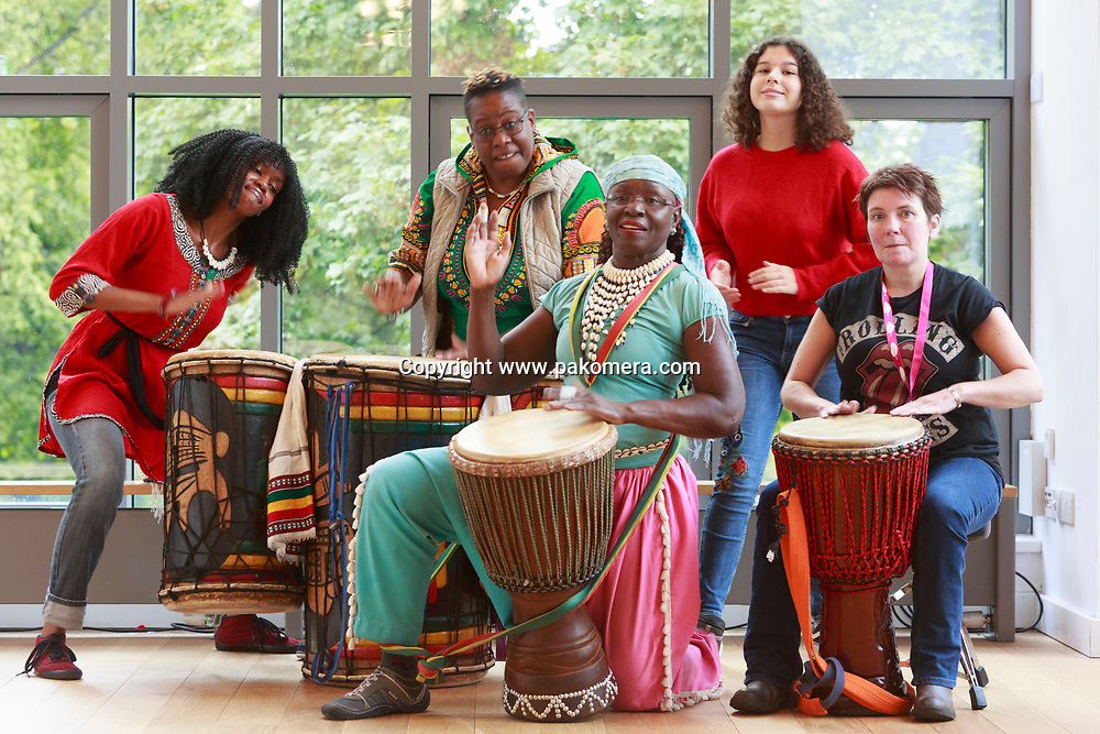 Edinburgh, Scotland, UK. 10th August, 2018. The Call of the Drum (Press/Photocall)<br />