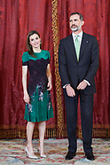 050817 Spanish Royals Attend a Official Lunch with  President of the Republic of Costa Rica