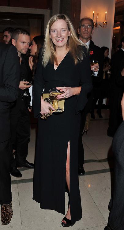 SARAH BURTON at the Harper's Bazaar Women of the Year Awards 2011 held at Claridge's, Brook Street, London on 7th November 2011.