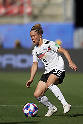 June 29, 2019 - Rennes, France - Svenja Huth (FFC Turbine Potsdam) of Germany controls the ball during the 2019 FIFA Women's World Cup France Quarter Final match between Germany and Sweden at Roazhon Park on June 29, 2019 in Rennes, France. (Credit Image: © Jose Breton/NurPhoto via ZUMA Press)