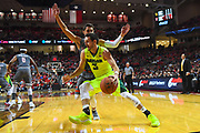LUBBOCK, TX - DECEMBER 29: Jake Lindsey #3 of the Baylor Bears drives to the basket against Davide Moretti #25 of the Texas Tech Red Raiders during the game on December 29, 2017 at United Supermarket Arena in Lubbock, Texas. Texas Tech defeated Baylor 77-53. (Photo by John Weast/Getty Images) *** Local Caption *** Jake Lindsey;Davide Moretti