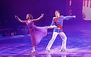 Imperial Ice Stars <br /> Nutcracker on ice <br /> Artistic Director Tony Mercer <br /> Music by Tchaikovsky<br /> Royal Albert Hall, London, Great Britain <br /> 28th December 2015 <br /> rehearsal <br /> <br /> <br /> Marilia Vygalova as Marie<br /> <br /> Vladislav Lysoi Nutcracker Prince <br /> <br /> <br />  <br /> <br /> International ice dance sensation, The Imperial Ice Stars, return for a third season at the Royal Albert Hall with their production of The Nutcracker on Ice for Christmas 2015, as part of their 10th anniversary world tour. The Nutcracker on Ice will open on Monday 28 December for a strictly limited season of 12 performances.<br /> <br /> <br /> <br />  <br /> <br /> Photograph by Elliott Franks <br /> Image licensed to Elliott Franks Photography Services