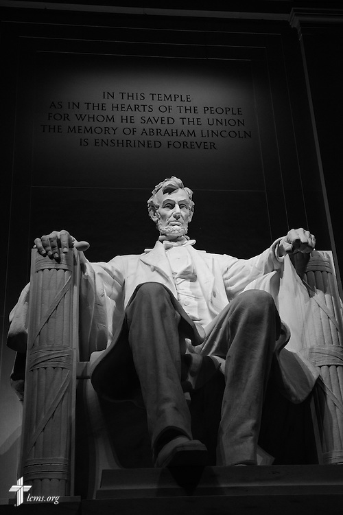 The Lincoln Memorial on Wednesday, Sept. 9, 2015, in Washington, D.C. LCMS Communications/Erik M. Lunsford