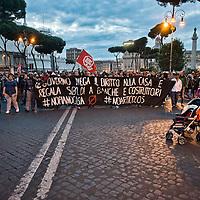 Decreto Casa, protesta dei movimenti per la casa