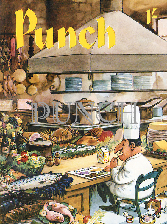 Punch (Front cover, 6 December 1961)