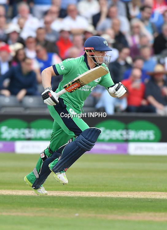 1st One Day International, Bristol Cricket Ground, England 5/5/2017<br /> England vs Ireland<br /> Ireland's Niall O'Brien<br /> Mandatory Credit &copy;INPHO/Presseye/Rowland White