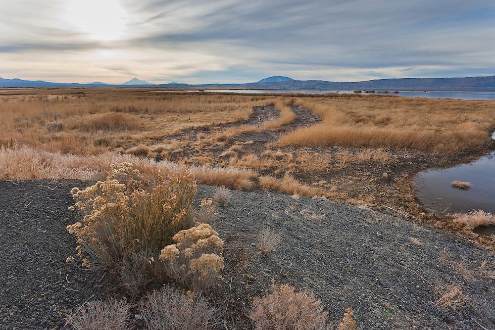 Lower Klamath National Wildlife Refuge, landscape photograph, california, oregon