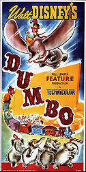 1941, Film Title: DUMBO, Director: BEN SHARPSTEEN, Studio: DISNEY, Pictured: ELEPHANT, FLYING, EARS, ANIMATION, CARTOON, DISNEY ANIMATION, CIRCUS. (Credit Image: SNAP/ZUMAPRESS.com) (Credit Image: © SNAP/Entertainment Pictures/ZUMAPRESS.com)