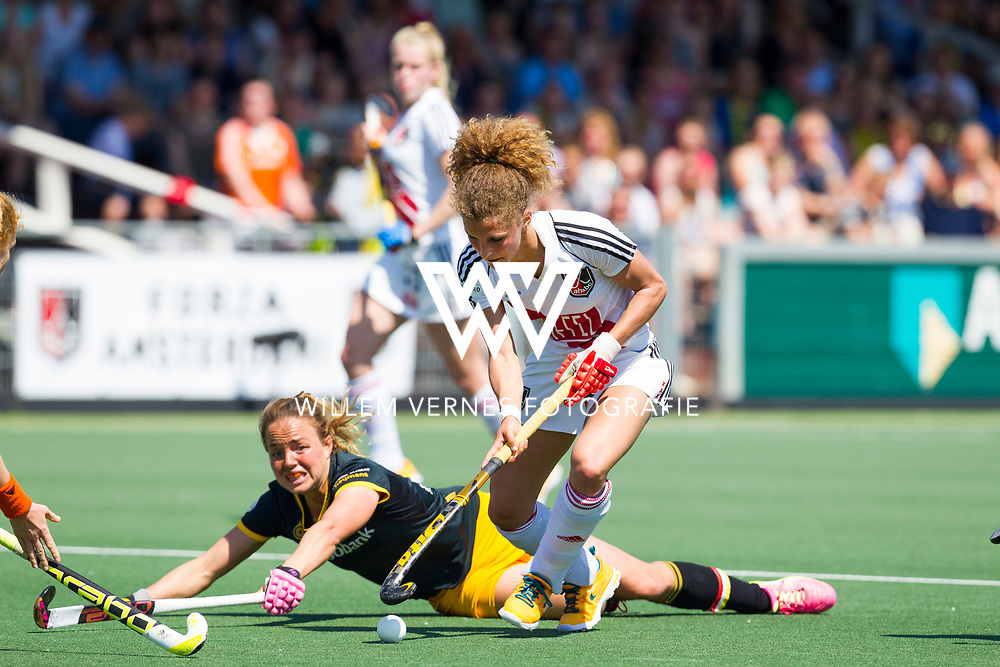 Amstelveen - Amsterdam - Den Bosch, Dames, Hoofdklasse Hockey Dames, Seizoen 2015-2016, 07-05-2016, Amsterdam - Den Bosch 0-1, Den Bosch landskampioen,