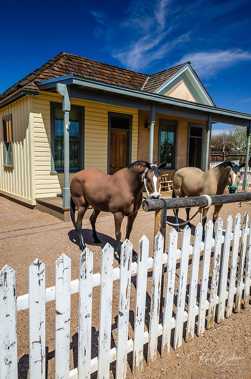 The Wyatt Earp House, Tombstone, Arizona USA