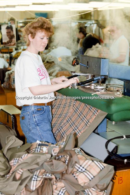Press Operator Burberry Castleford