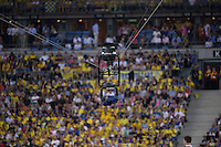 spider cam  - 13.06.2015 - Clermont / Stade Francais - Finale Top 14<br />