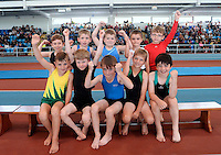 20 Aug 2016:  U9 Boys Gymnasts.   2016 Community Games National Festival 2016.  Athlone Institute of Technology, Athlone, Co. Westmeath. Picture: Caroline Quinn