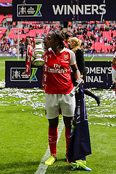 Danielle Carter of Arsenal Ladies, Arsenal Ladies FC beat Chelsea Ladies FC 1-0 and win the SSE Women's FA Cup - Mandatory byline: Jason Brown/JMP - 14/05/2016 - FOOTBALL - Wembley Stadium - London, England - Arsenal Ladies v Chelsea Ladies - SSE Women's FA Cup