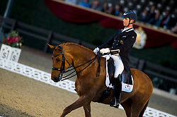 Hester Carl, GBR, Barolo<br /> Grand Prix Freestyle  <br /> Royal Windsor Horse Show<br /> © Hippo Foto - Jon Stroud