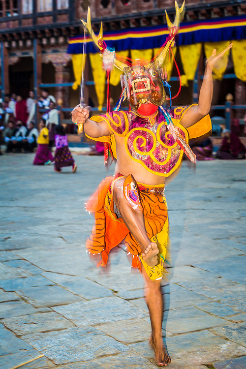 Trongsa festival, Bhutan